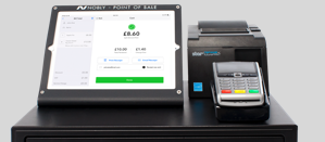 Nobly's Cafe iPad & Mobile POS Till System With Integrated Payments Card Reader