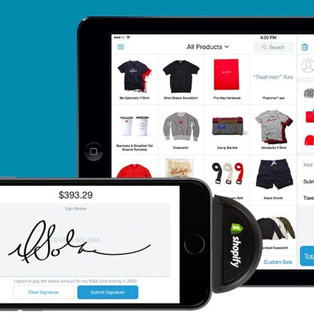 Shopify POS on iPad and phone