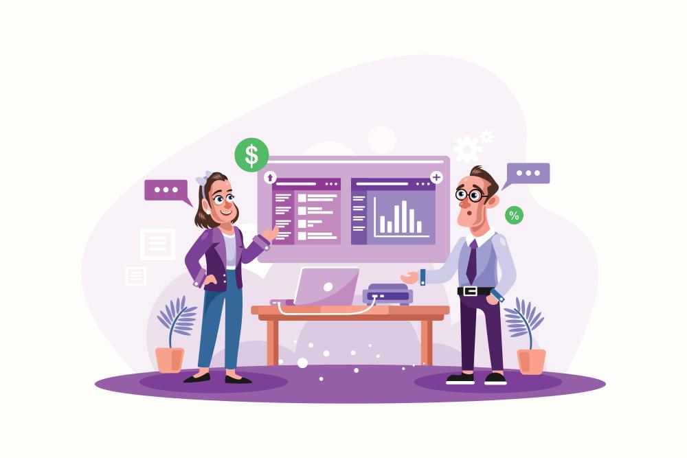 Meeting-Business-Presentation-Vector-Illustration