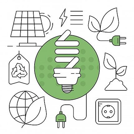 Environmentally-conscious lightbulbs