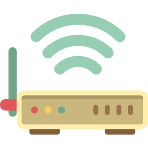 Wifi router graphic