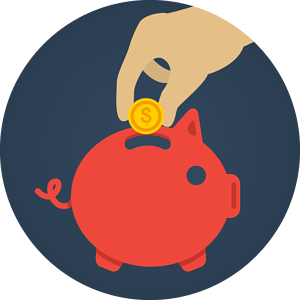 piggy bank accountancy