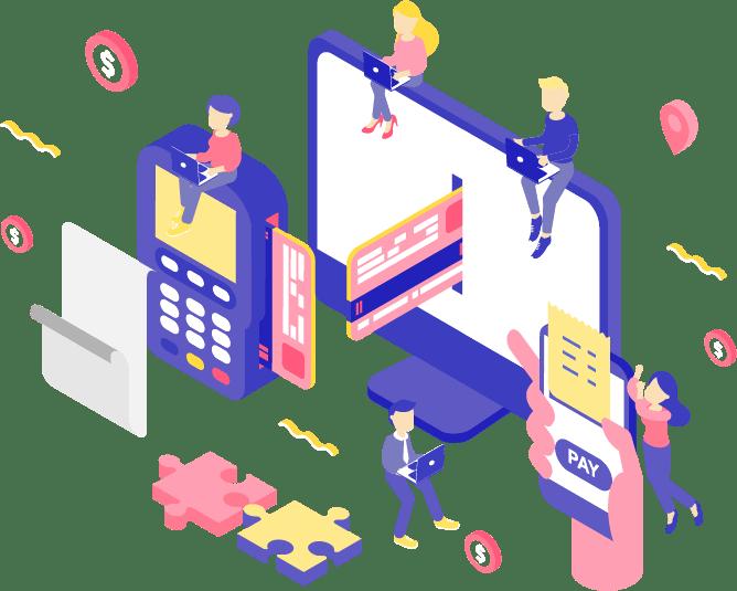 system for running payroll